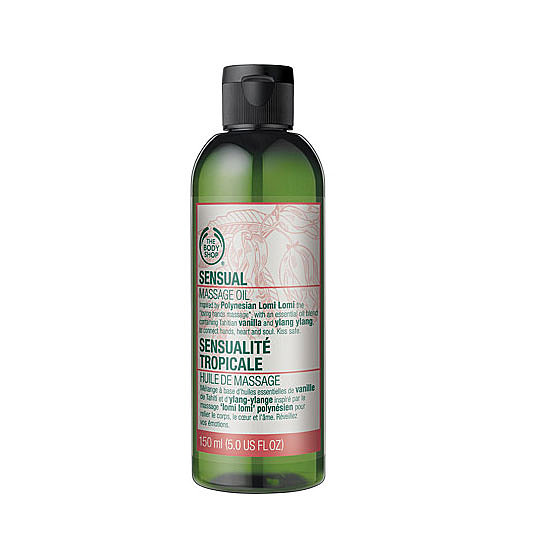 The Body Shop Sensual Massage Oil, $22.95