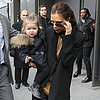 Victoria Beckham on Her Way to Fashion Week Fall 2013
