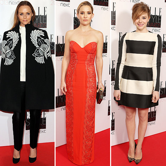 It's A Black, White and Red Hot Night at the Elle UK Style Awards