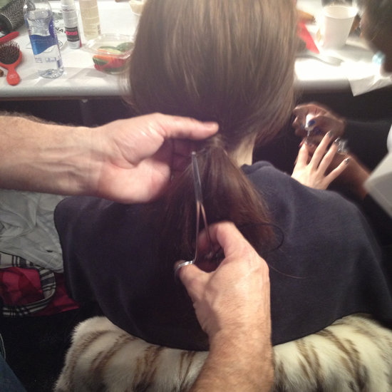 Seen at Milly: How to Use Forceps to Fancify Your Ponytail