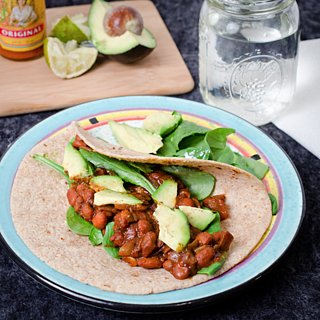 Barbecue Bean Taco