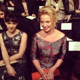 Jena Malone and Katherine Heigl attended a fashion show. Source: Instagram user yahooshine