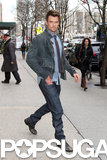 Josh Duhamel visited Live! With Kelly and Michael in NYC.
