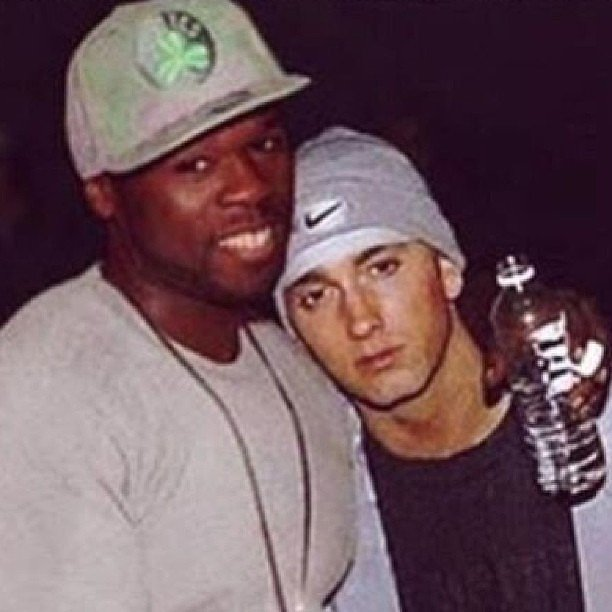 50 Cent shared a photo with his long-time friend Eminem. Source: Instagram user 50cent
