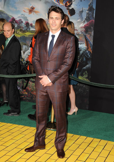 James Franco wore Gucci to the Oz the Great and Powerful premiere.