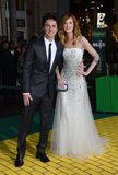 Zach Braff walked the red carpet with girlfriend Taylor Bagley at the Oz the Great and Powerful premiere.