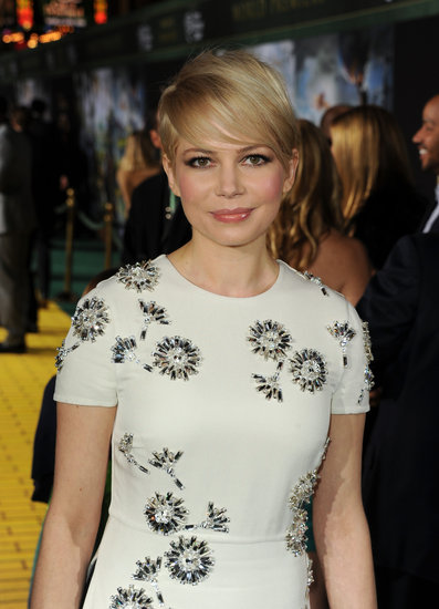 Michelle Williams walked the red carpet.