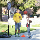 Brendan Wahlberg showed off his basketball skills.