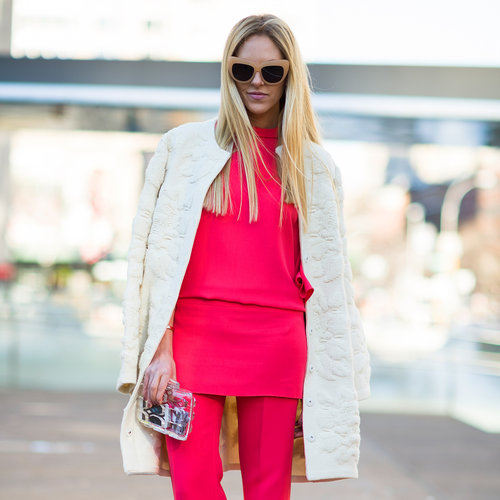 Bright Street Style Outfits at Fashion Week | Fall 2013