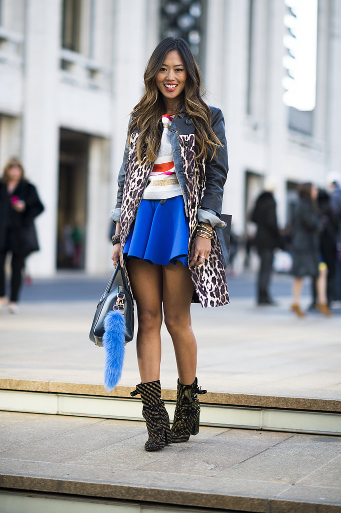 Cobalt blue added pops of bright.  Source: Le 21ème | Adam Katz Sinding