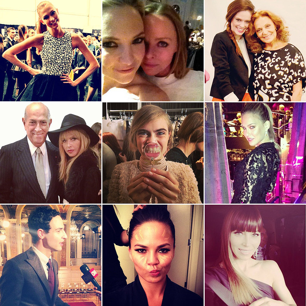 Let's Be Social: The Week's Stylish (Fashion Week!) Social Media Snaps