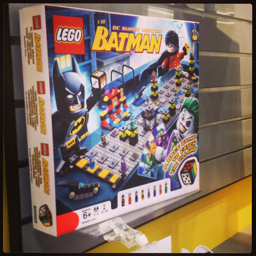 Lego is adding to its gaming collection with a Batman-themed game.