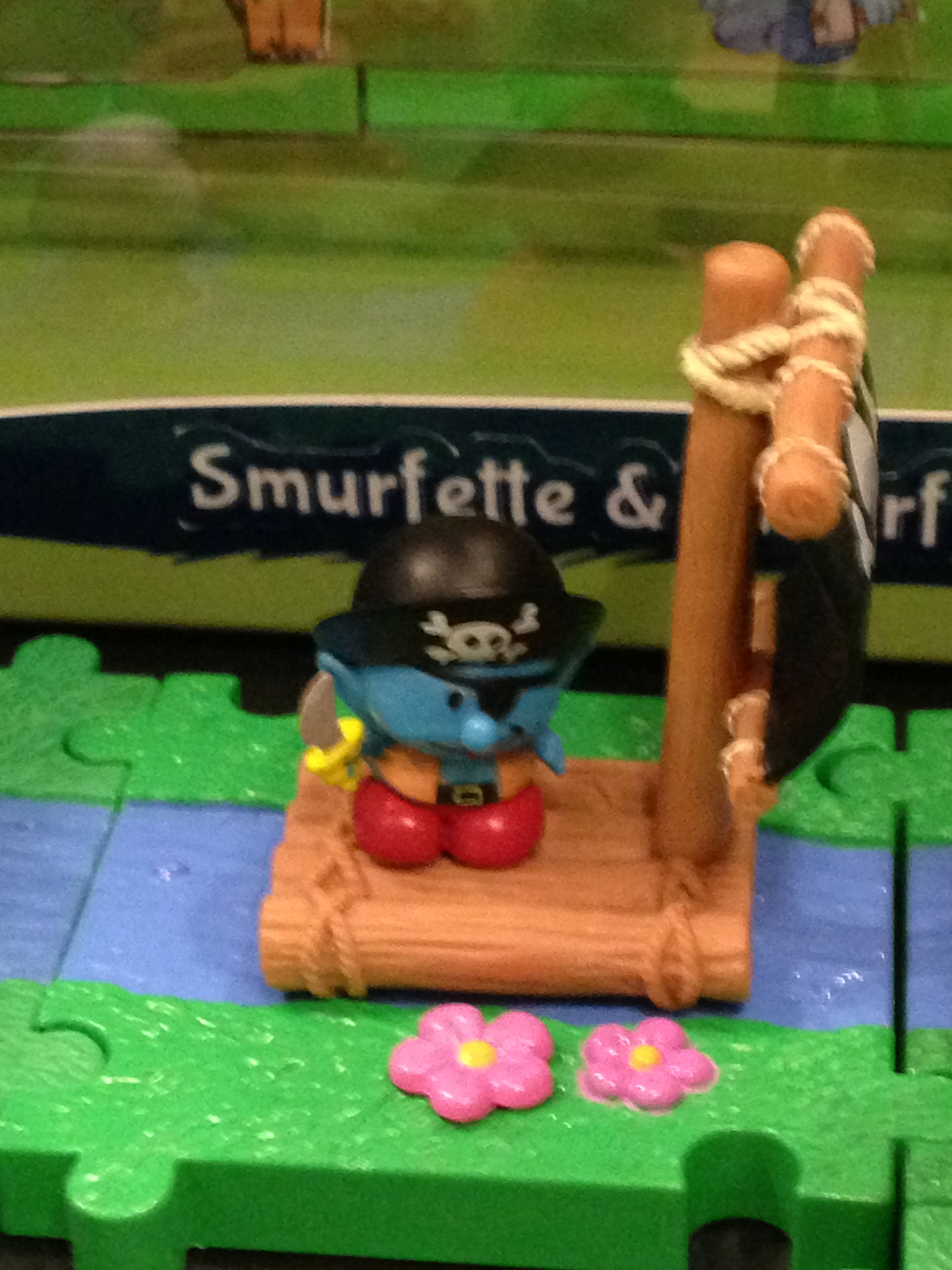 Ahoy, little Smurf!