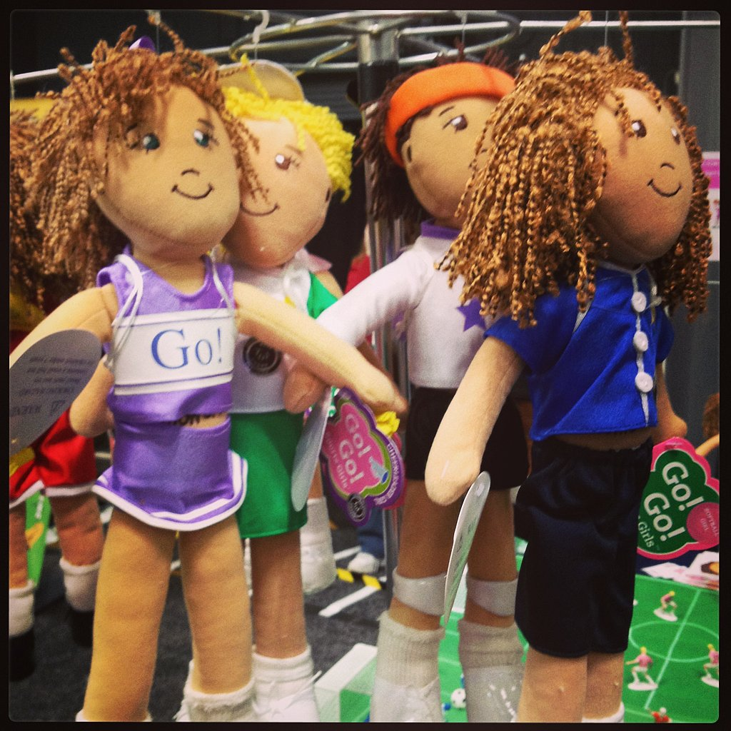 Go! Go! Sports Girls dolls are all about empowering little girls ages 3 to 12.