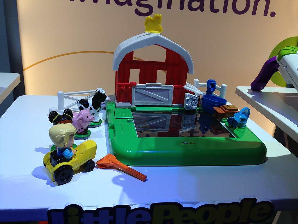 The classic Fisher-Price Barnyard has entered the digital age.