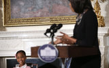 Michelle Obama Welcomes Adorable Quvenzhané Wallis to the White House