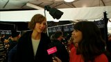 Karlie Kloss Talks Short Hair and Texture Spray: Watch It Now!