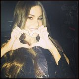 Sofia Vergara wished her followers a happy Valentine's Day on Instagram. Source: Instagram user sofiavergara