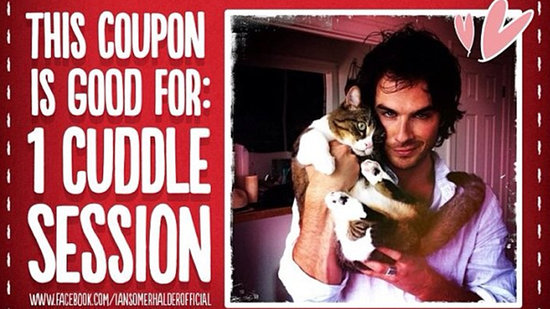 "Video: Ian Somerhalder's Valentine's ""Freebie,"" and More Headlines!"