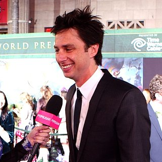 Zach Braff Oz the Great and Powerful Interview (Video)