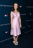 Kristin Davis wore a pink Tommy Hilfiger dress.