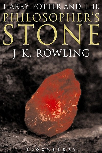 Harry Potter and the Philosopher's Stone, UK Adult