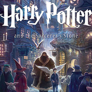 Harry Potter Book Cover Art