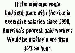 Denying Minimum-wage Hike is Craven and Grotesque