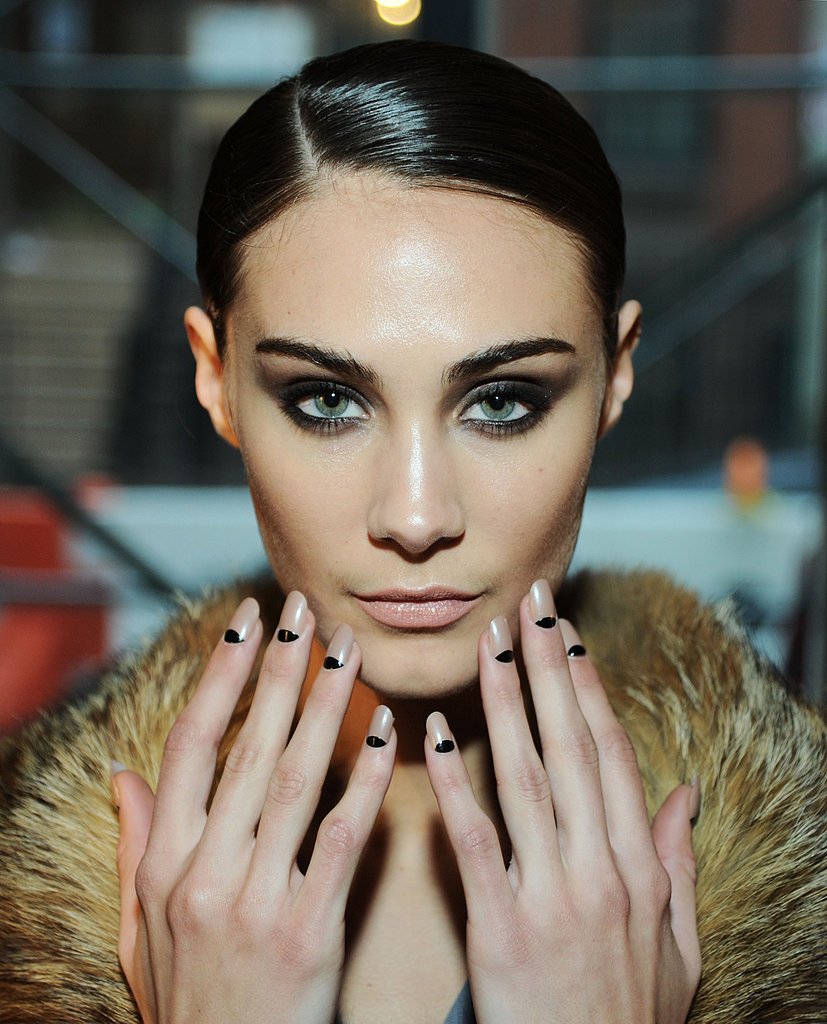 La Perla's Half-Moon Manicure