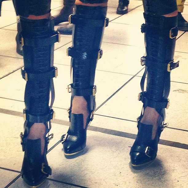 The boots at Prabal Gurung were the best.
