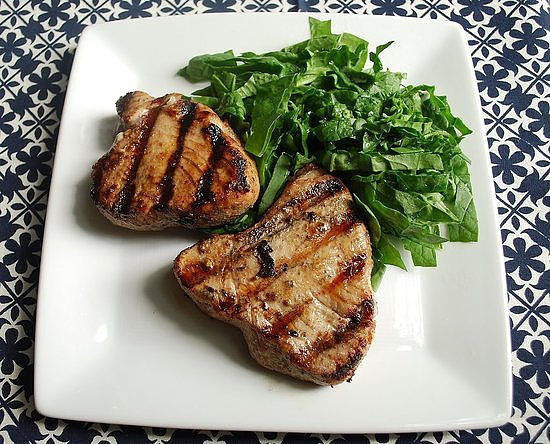 Pomegranate-Marinated Tuna
