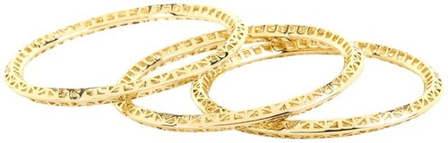 Kendra Scott - Bethany Bangle Bracelets (Gold) - Jewelry