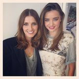 Kate Waterhouse had lunch with Miranda Kerr. Source: Instagram user katewaterhouse7