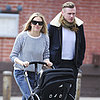 Sienna Miller Pushes Marlowe Sturridge in Her Stroller
