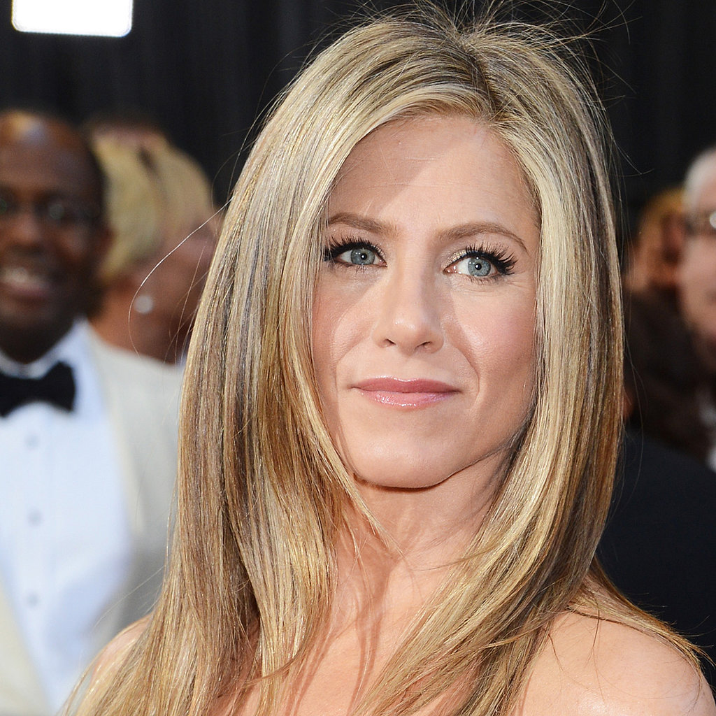 Jennfier Aniston Oscars 2013 Hair