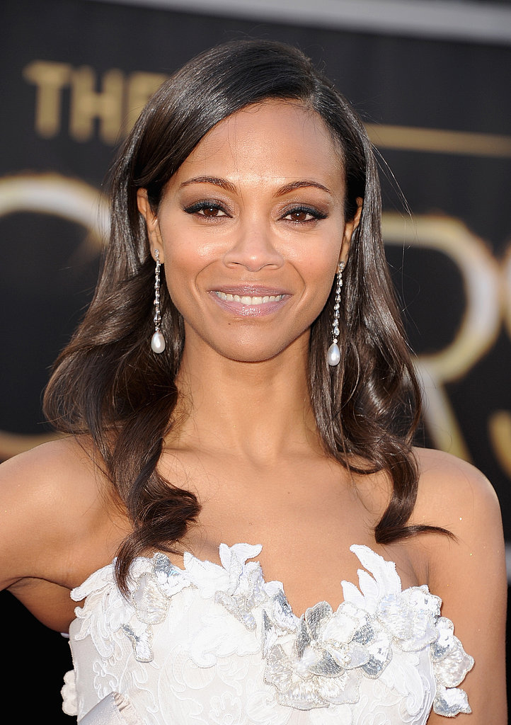 Zoe Saldana at the Oscars