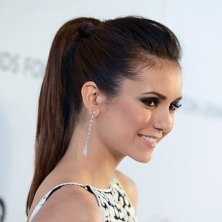 Nina Dobrev Oscars Party 2013 Hair