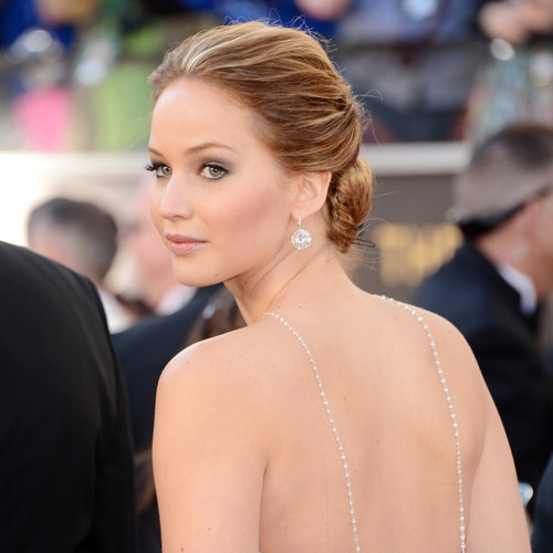 Jennifer Lawrence Oscars 2013 Hair