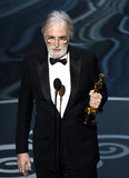 Michael Haneke won the award for best foreign film for Amour at the 2013 Oscars.