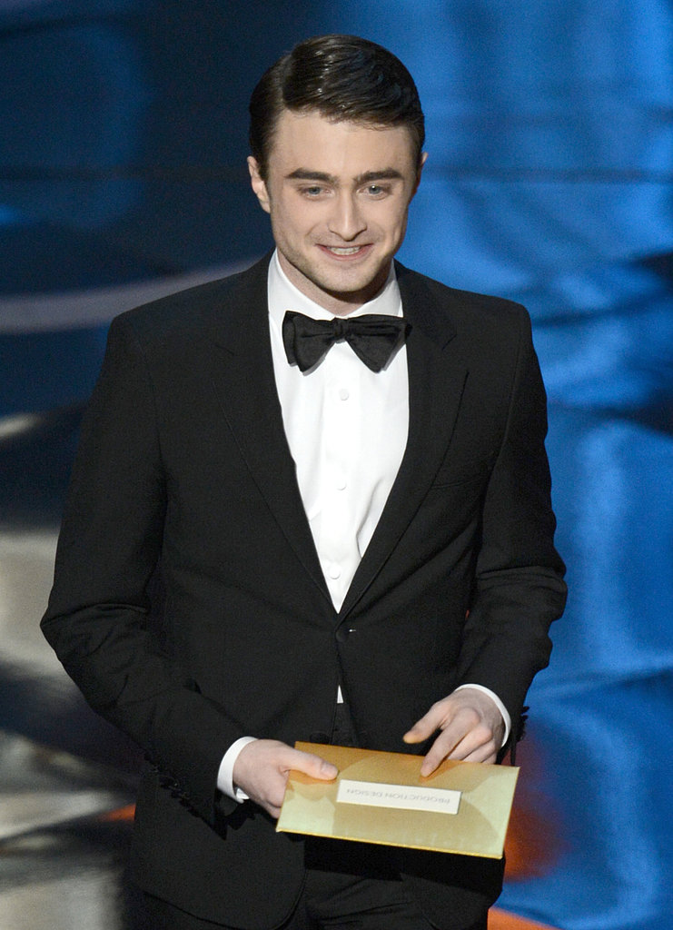 Daniel Radcliffe at the 2013 Oscars.
