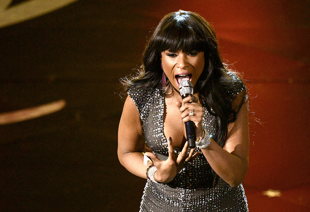 Jennifer Hudson performed at the 2013 Oscars.