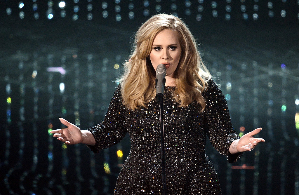 Adele performed at the 2013 Oscars.