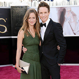 Eddie Redmayne Pictures With Girlfriend at 2013 Oscars
