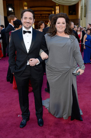 Melissa McCarthy Hits the Oscars Red Carpet With Her Husband