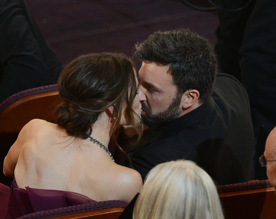 In February, Ben Affleck and Jennifer Garner shared a kiss in their seats at the Oscars.