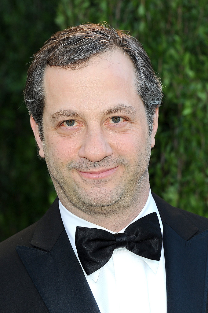 Judd Apatow arrived at the Vanity Fair Oscar party on Sunday night.