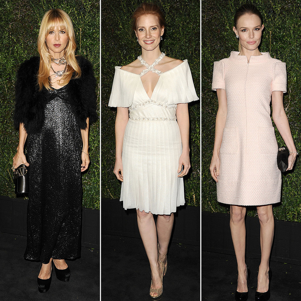 Famous Ladies Spend the Night Before Oscars With Chanel