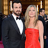 Jennifer Aniston in Red Valentino Pictures at 2013 Oscars