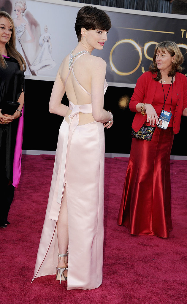 Anne Hathaway at the 2013 Oscars.