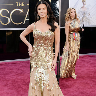 Catherine Zeta-Jones Oscar Dress 2013 | Pictures